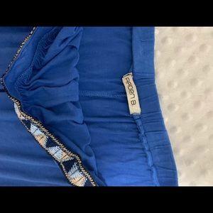 Arden B Tops - Arden B blue strapless size medium